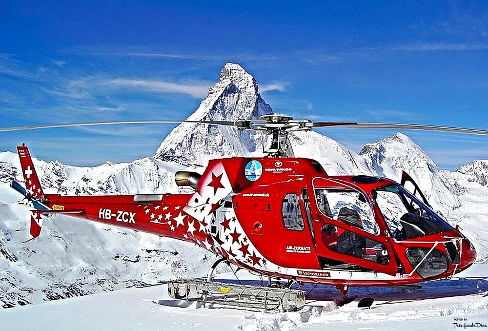 Air Zermatt and Matterhorn