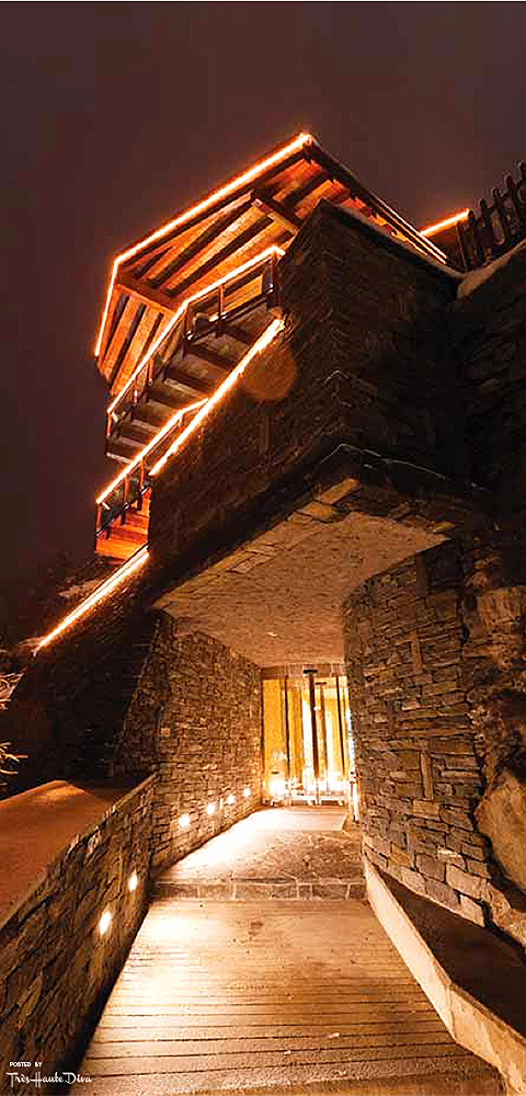 Chalet Zermatt Peak Private Entrance