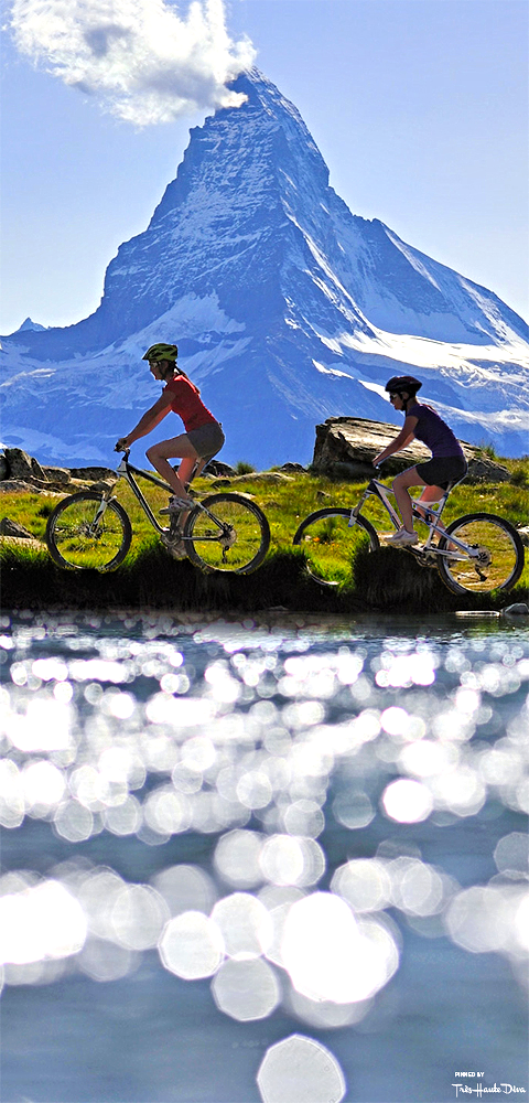 Mountain- Biking in Zermatt