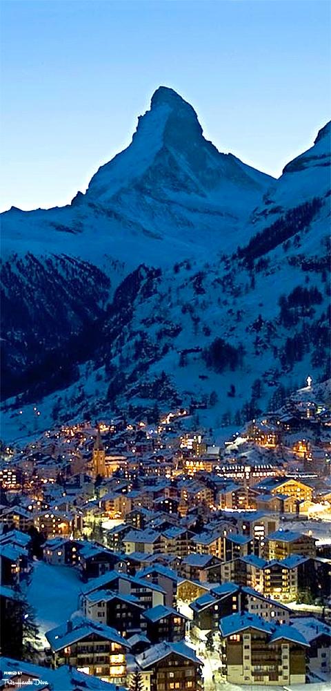 Zematt and Matterhorn