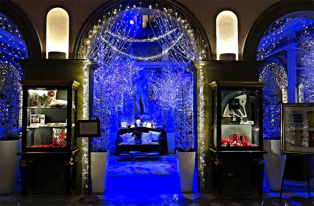 Lobby during Christmas   Image:  Tripadvisor Traveller's Photo