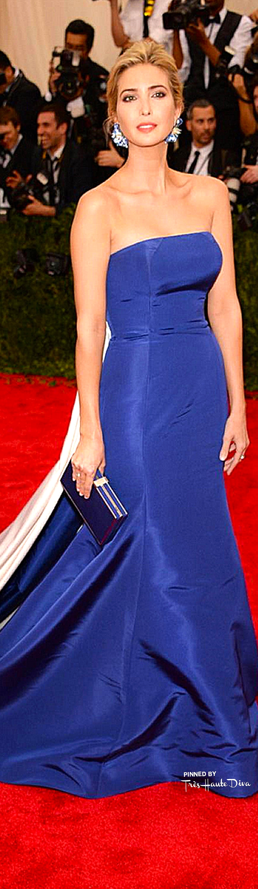Ivanka Trump in Prabal Gurung Couture                                 Getty Images