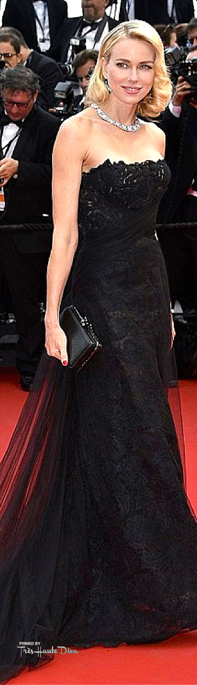Naomi Watts in Ralph Lauren and Chopard Jewels