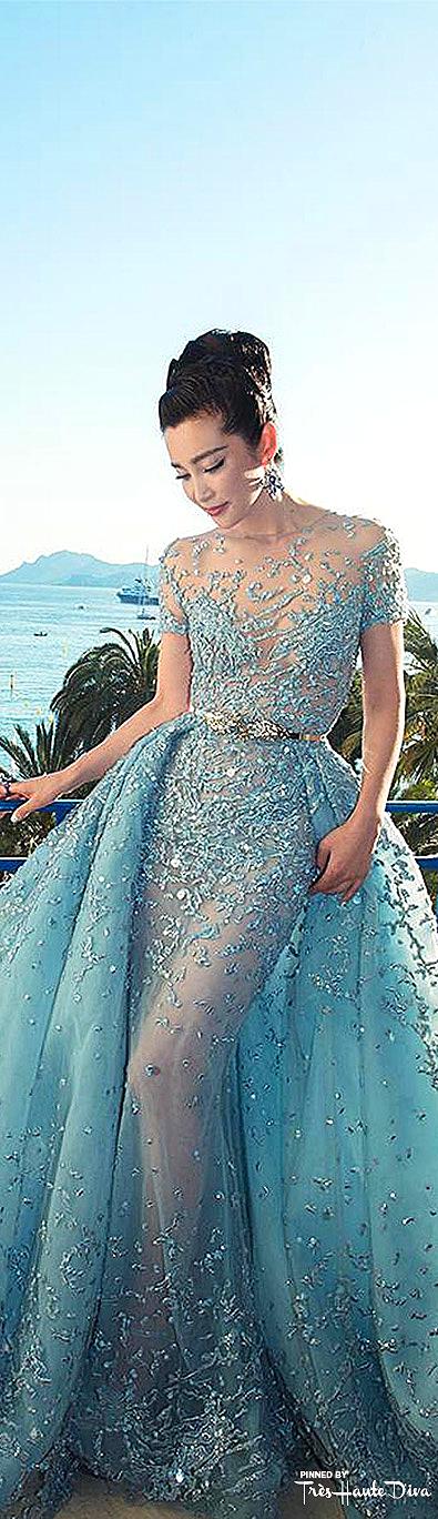 Li Bingbing in Zuhair Murad Spring 2015 Couture