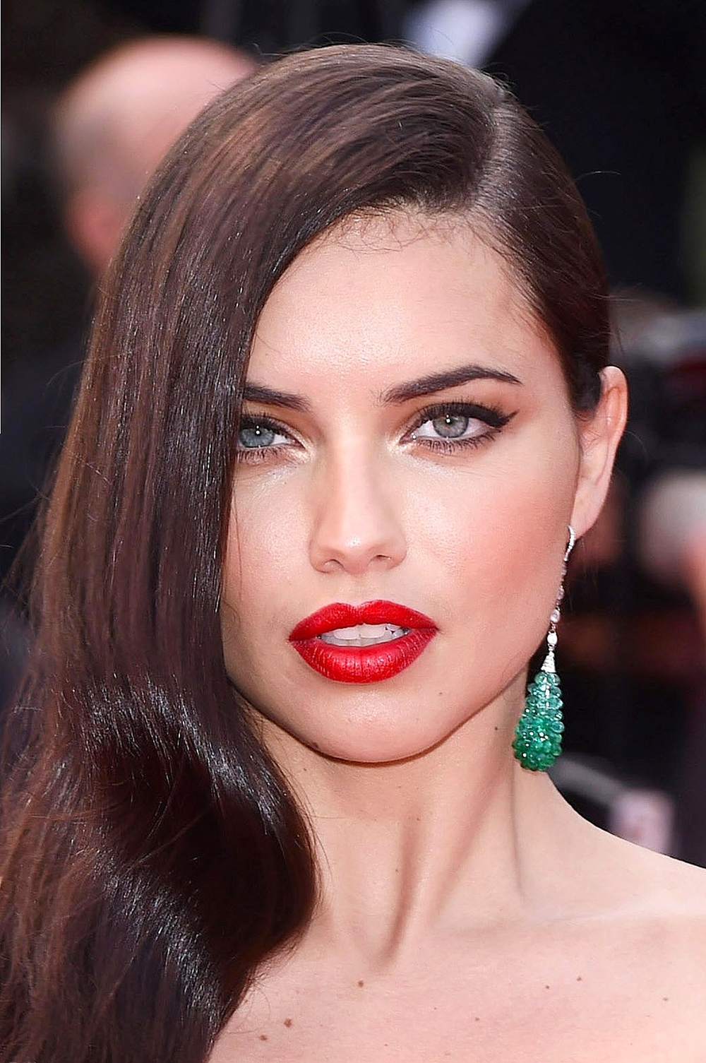 Adriana Lima at the Sicario premiere      Photo by Rex Features
