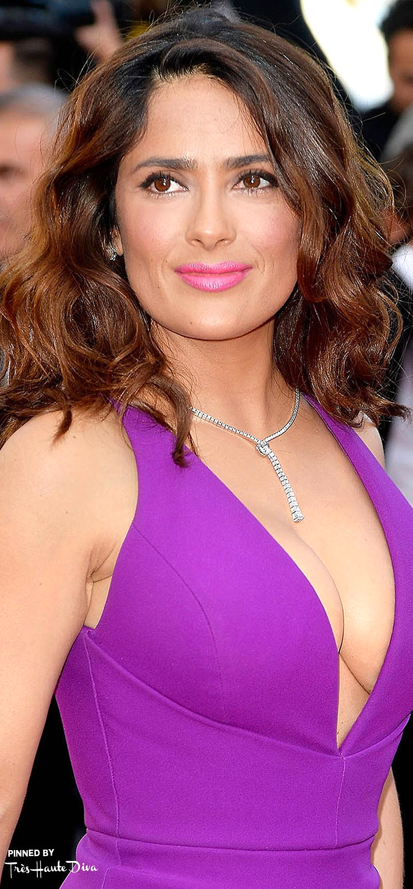 Salma Hayek               Photo by Getty