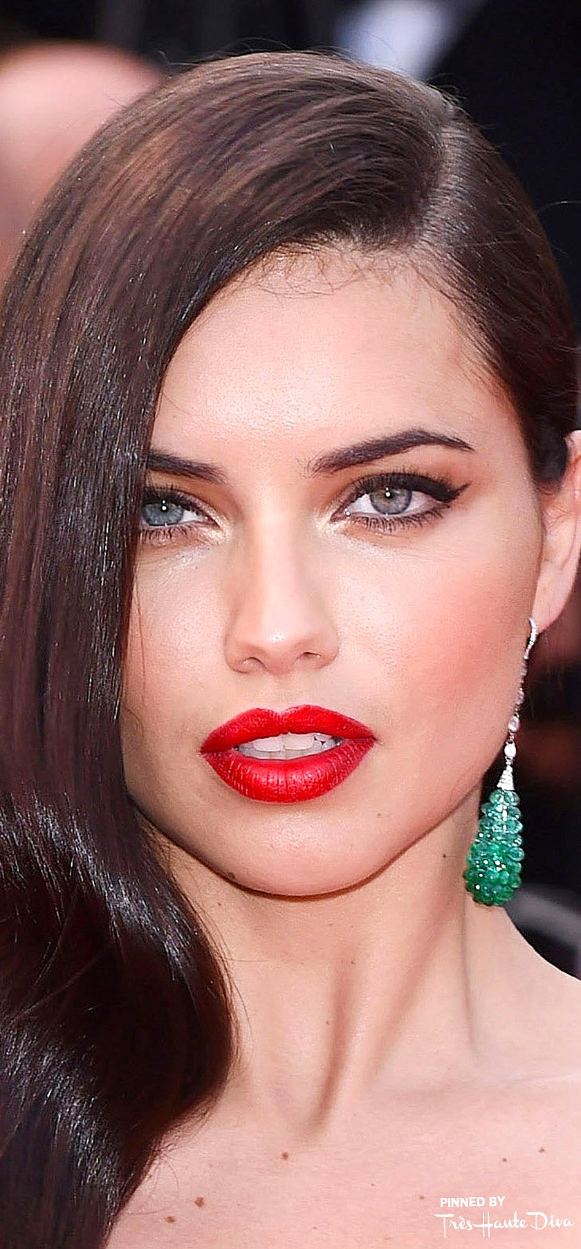 Adriana Lima                 Photo by Rex Features