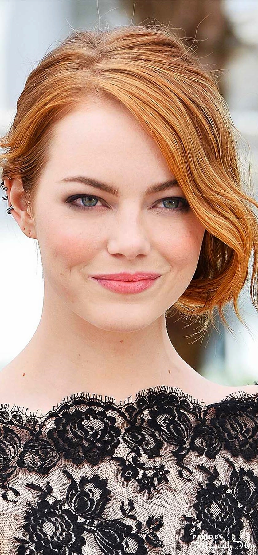 Emma Stone                          Photo by Getty