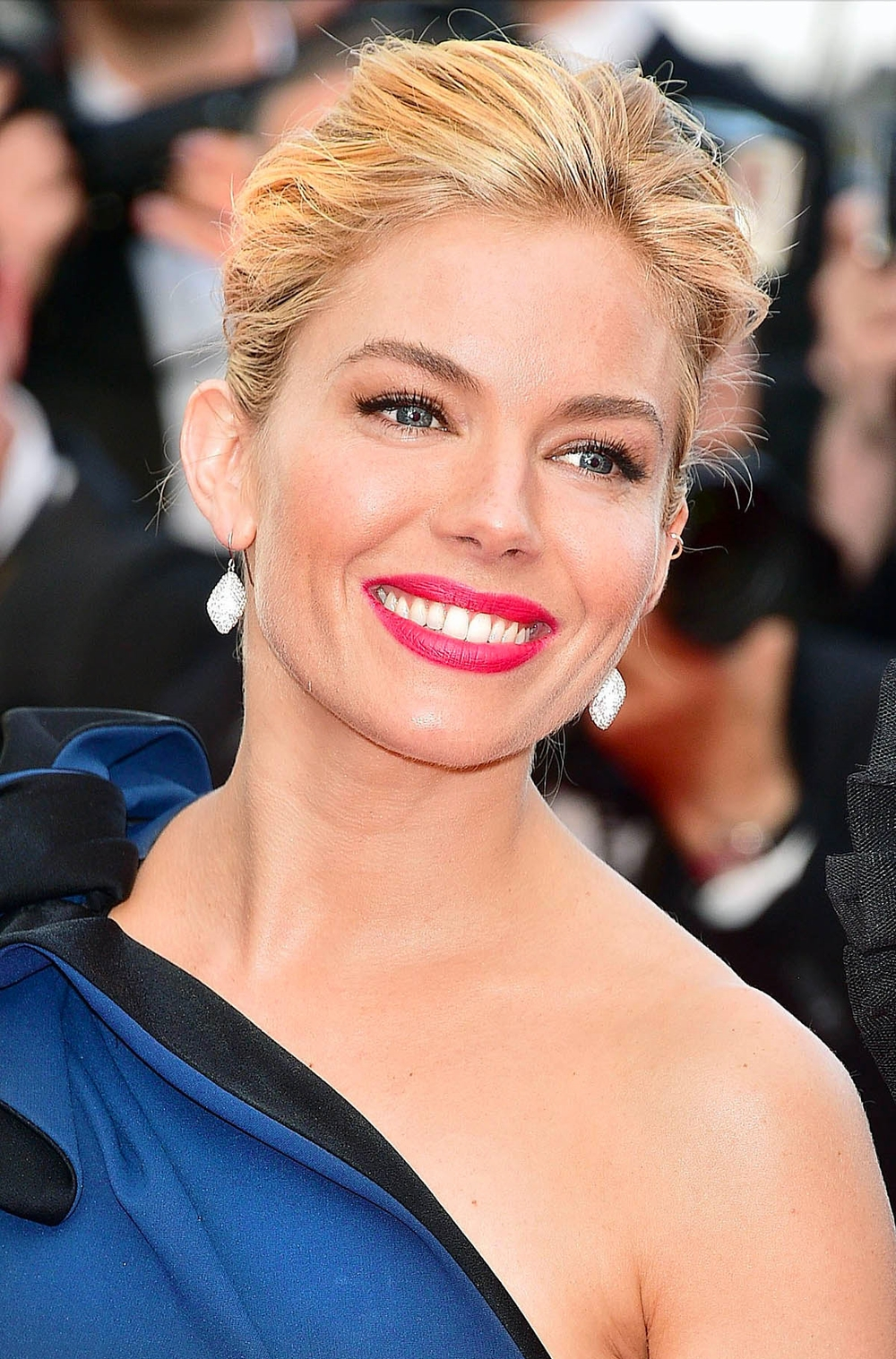 Sienna Miller at the Cannes Opening Ceremony                  Photo by Getty