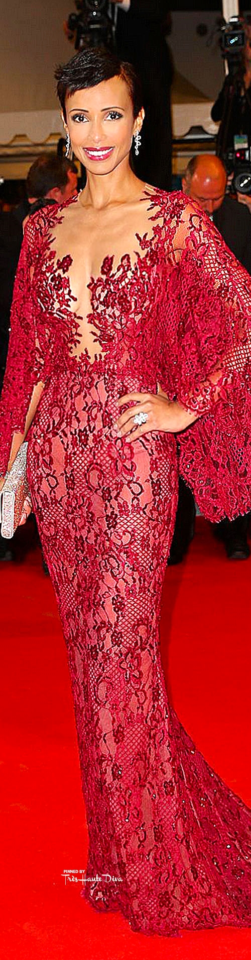 Sonia Rolland in Zuhair Murad                      DR