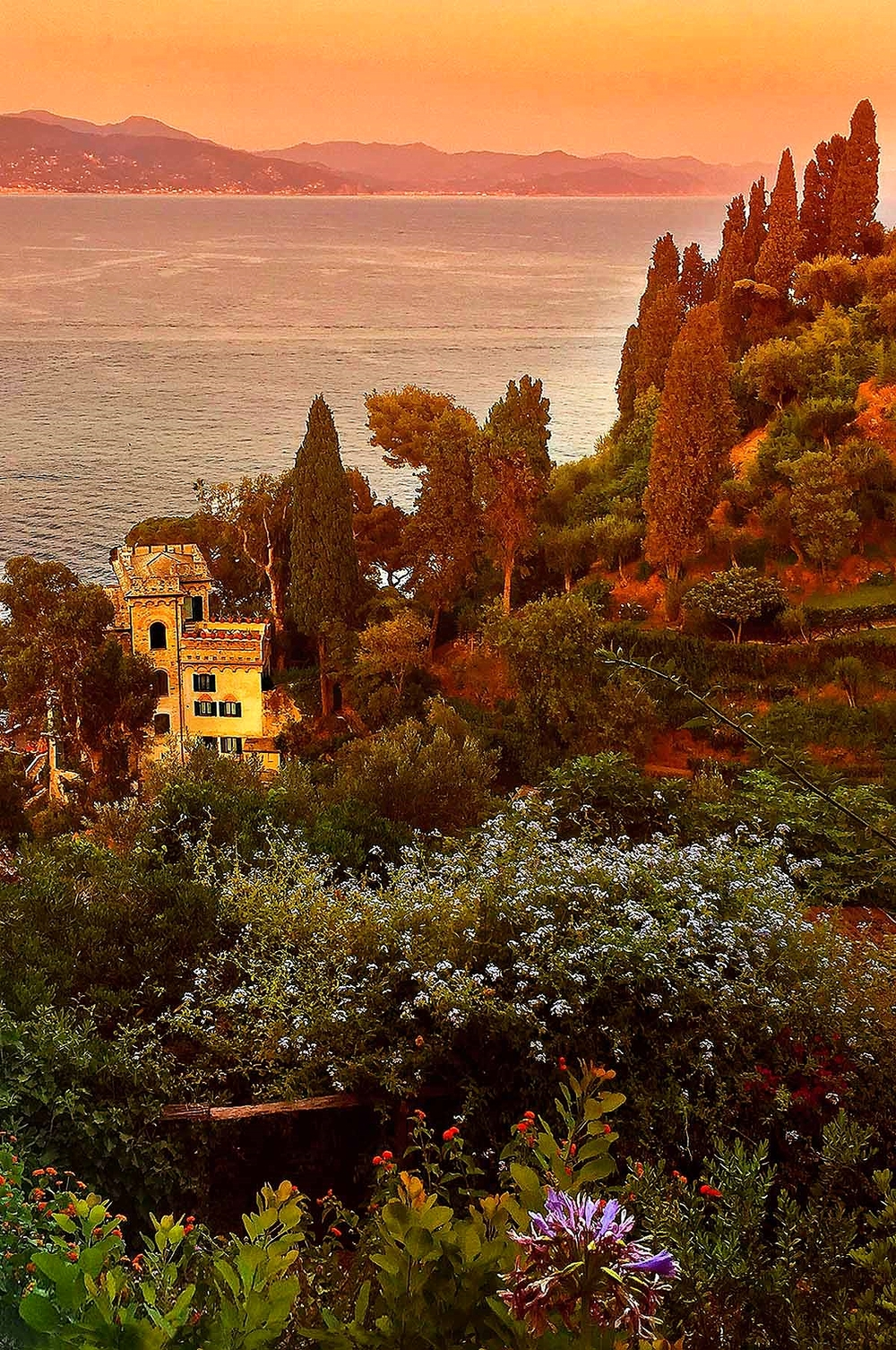 Dolce & Gabbana Castle in Portofino