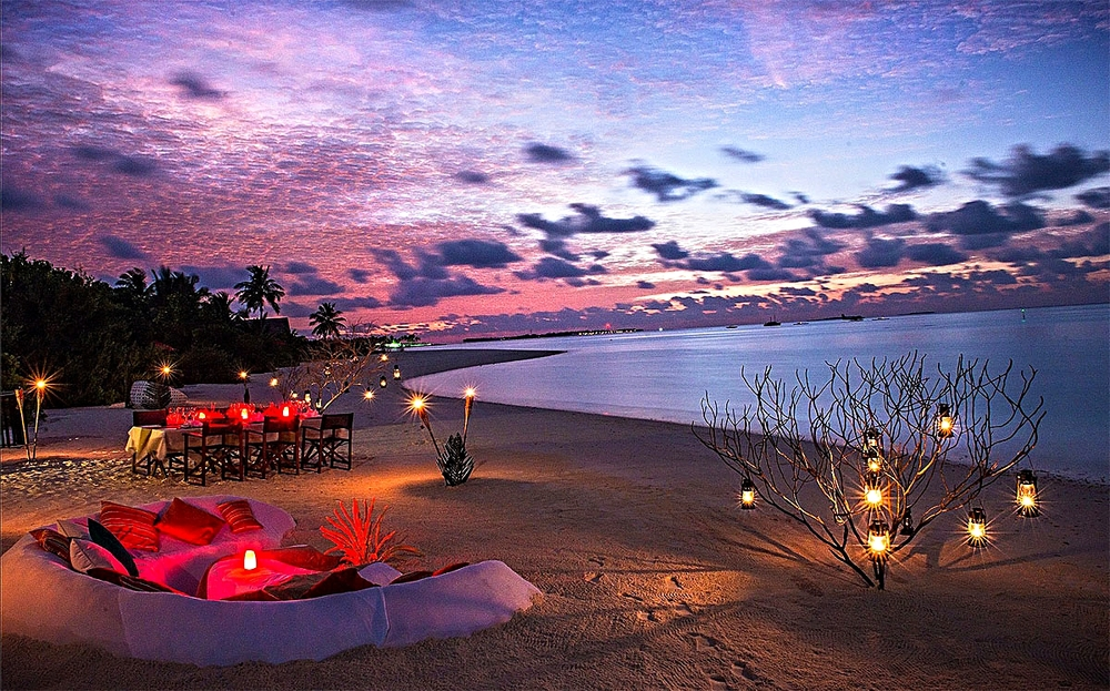 Private Barbecue At The Beach