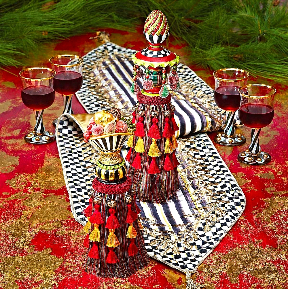 Tabletop Tassels & Tango Wine Glasses