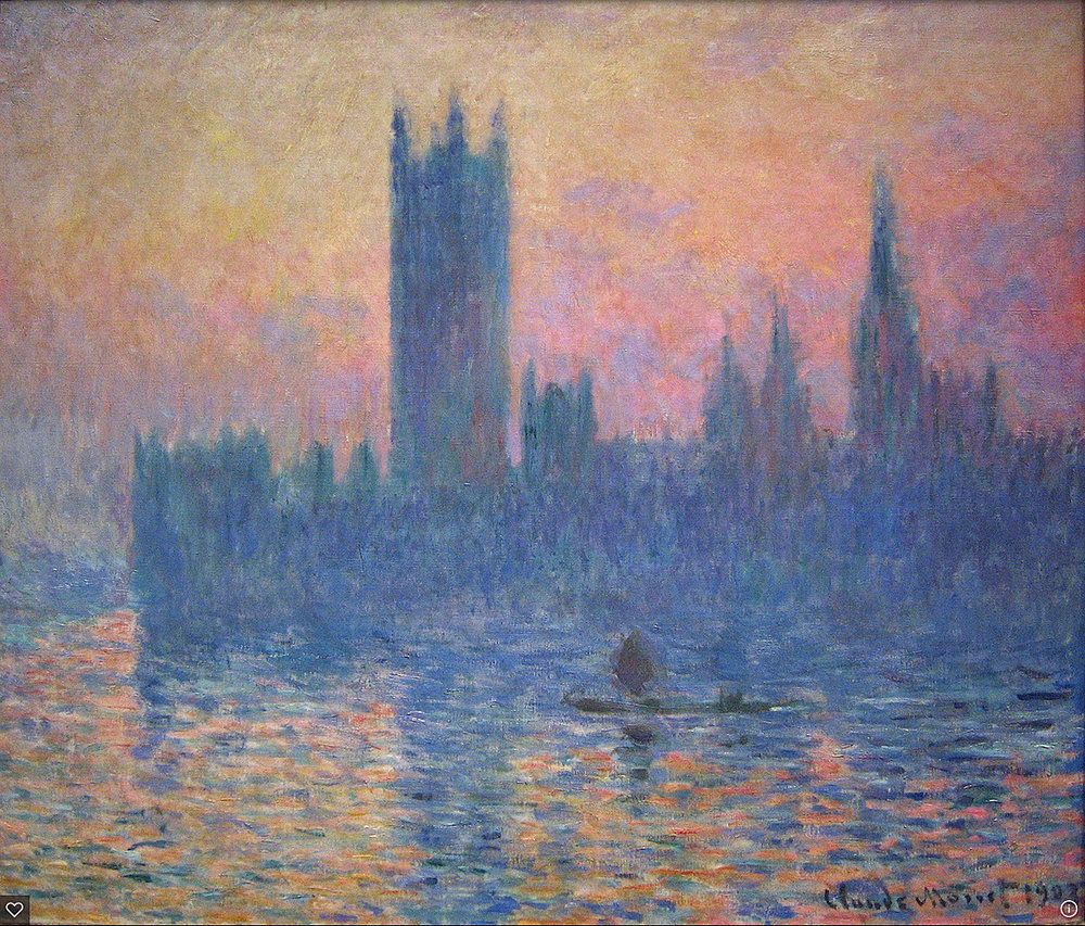 Claude Monet 'Houses of Parliament'