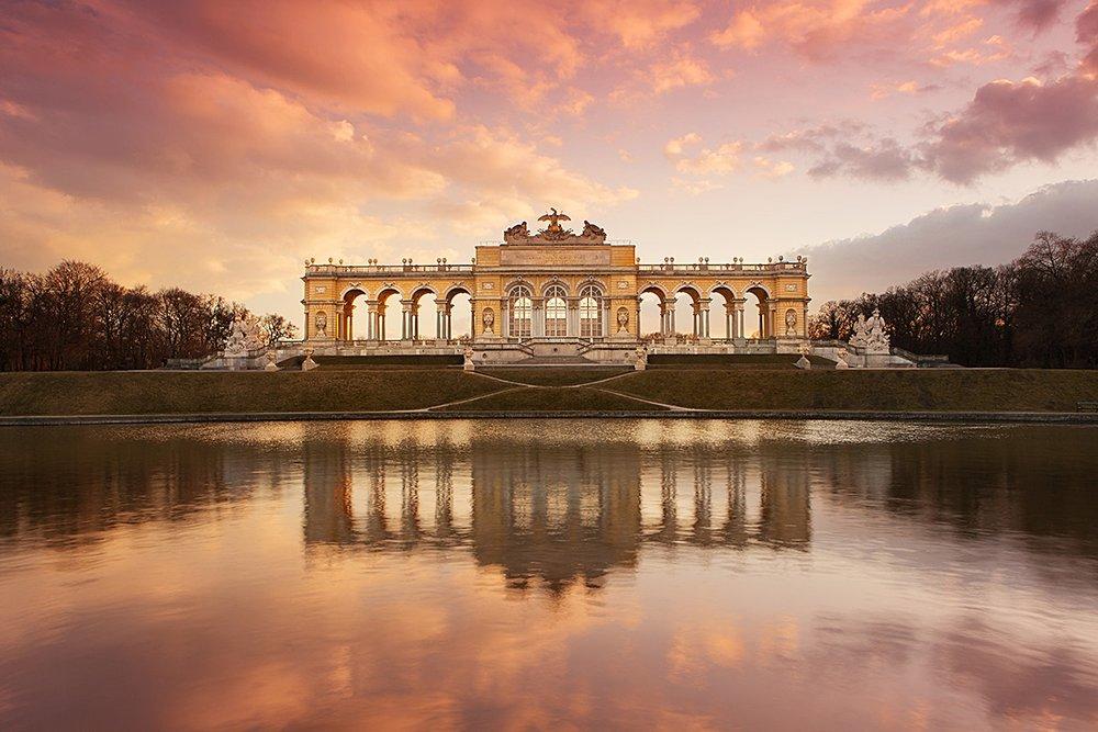 The Gloriette, Schönbrunn Palace garden, Vienna, Austria