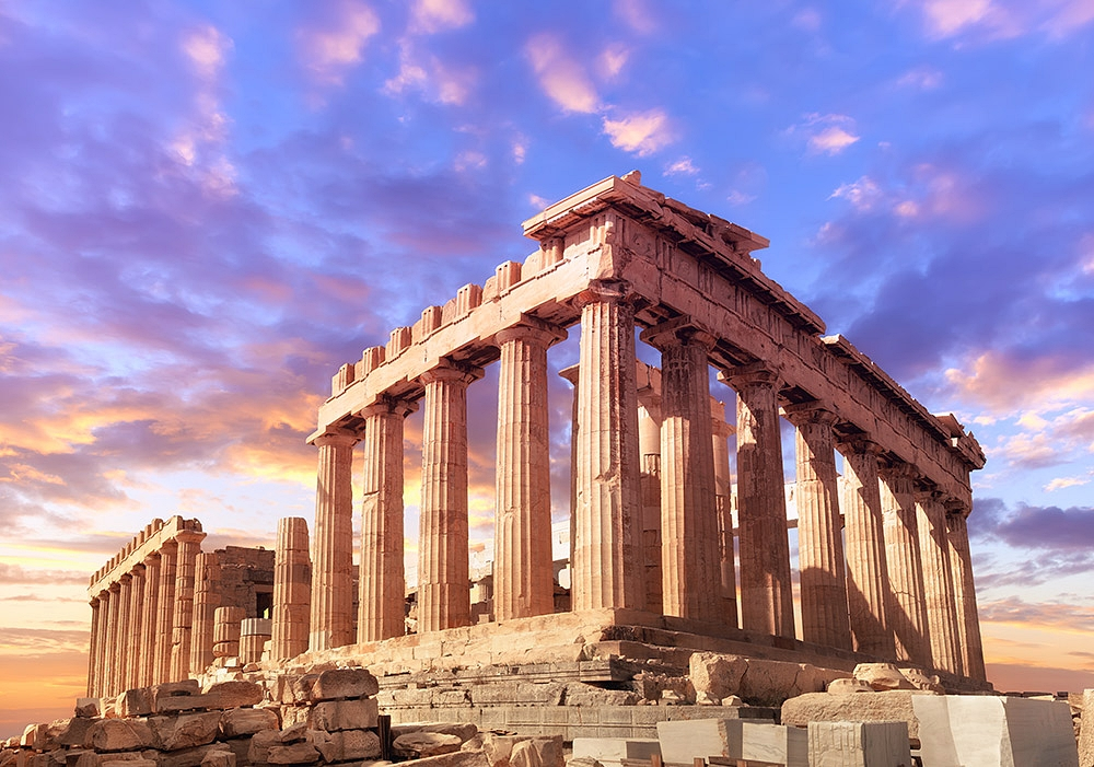 The Parthenon, Acropolis in Athens, Greece