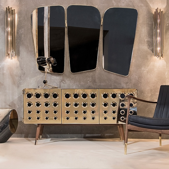 'Monocles' sideboard by Essential Home