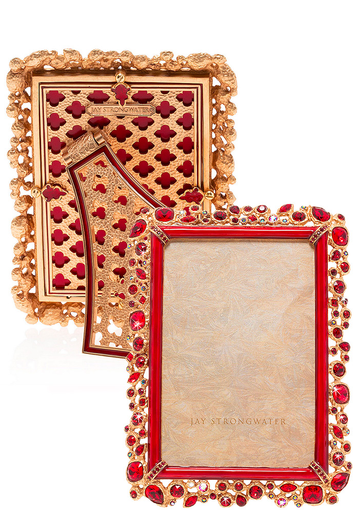 Jay Strongwater Bejeweled Frame