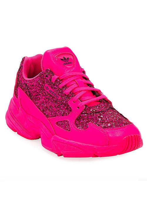 Adidas Falcon Women's Glitter Sneakers