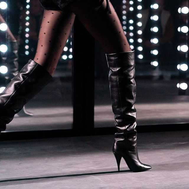 #saintlaurent #boots #sexy #pfw #fallwinter2019 @treshautediva @ysl