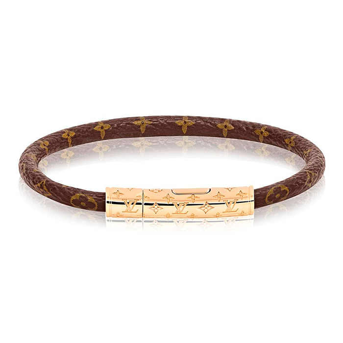 LV Confidential bracelet $250.00 leather