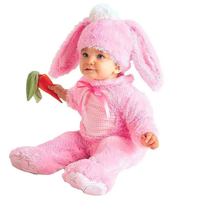 Baby Girls' Precious Pink Wabbit Costume