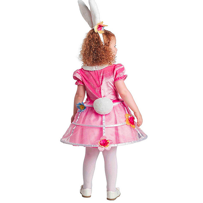Toddler Girls' Easter Bunny Basket Costume - Spritz