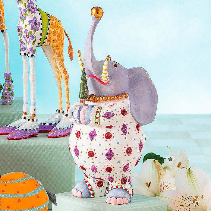 Patience Brewster Jambo Eleanor Elephant Ornament