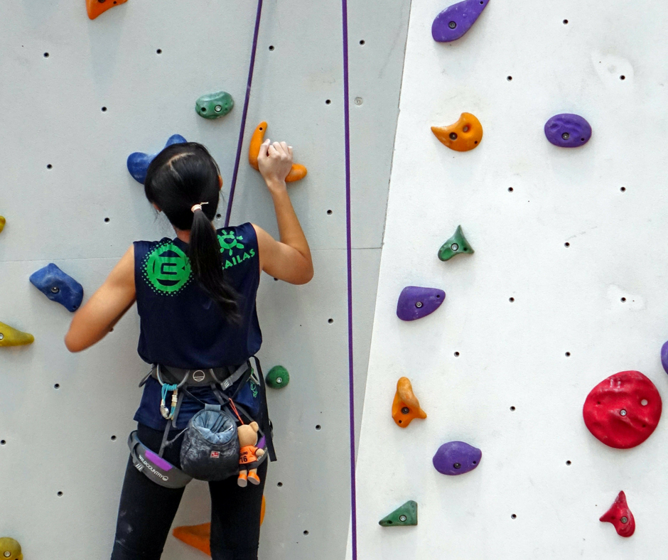 University of Alberta Wall Brawl Rock Climbing