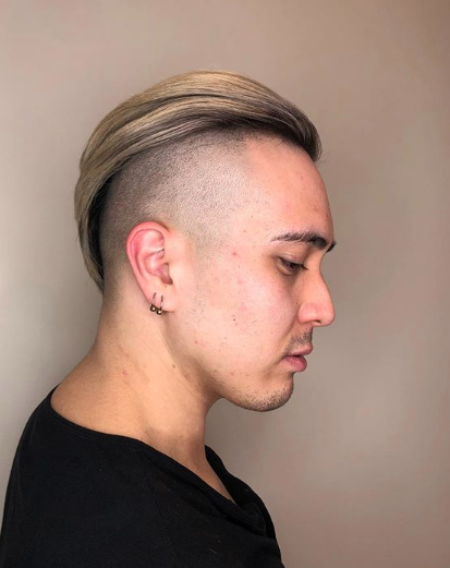 Edgy men's cut by Sandy