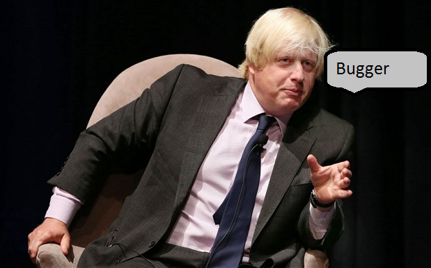 Boris makes a real hash of it...