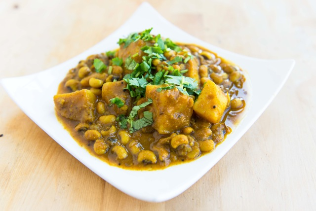 Blackeyed Peas & Potato Curry