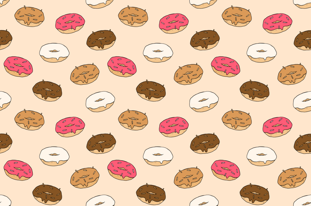 Donut repeat pattern