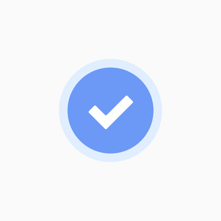 Verified user icon...