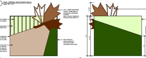 Original Maple Leaf sketches