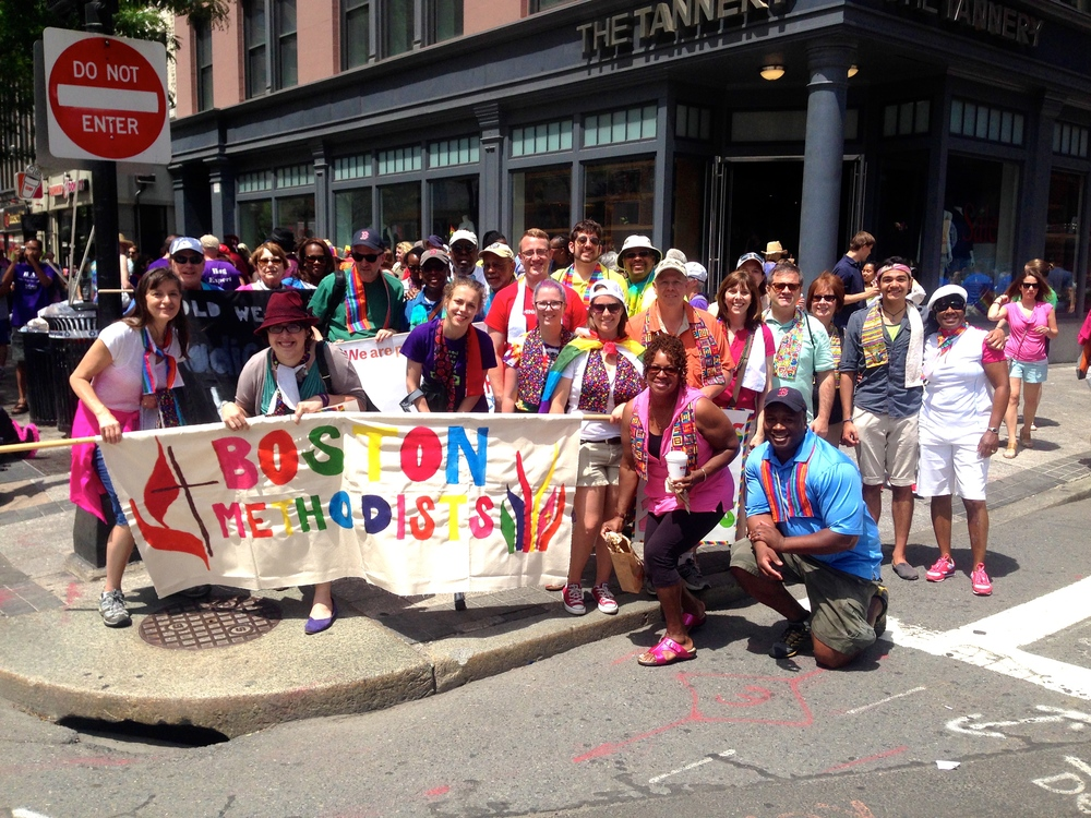 OWC in the Boston Pride Parade 2015
