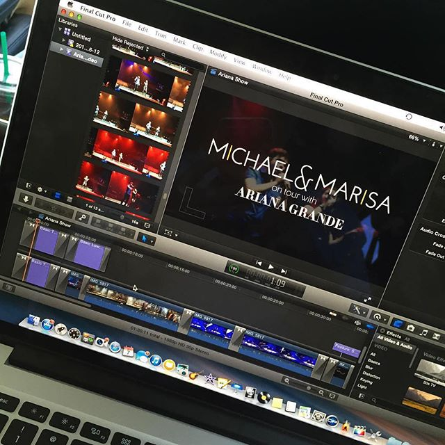 #Repost @michaelofficial ・・・ Putting together a lil video 🎶🎥 #HoneymoonTour 🌙✨ #nowplaying #newmusic #arianagrande #mmofficial #popduo #michaelofficial #michaelandmarisa #marisaofficial