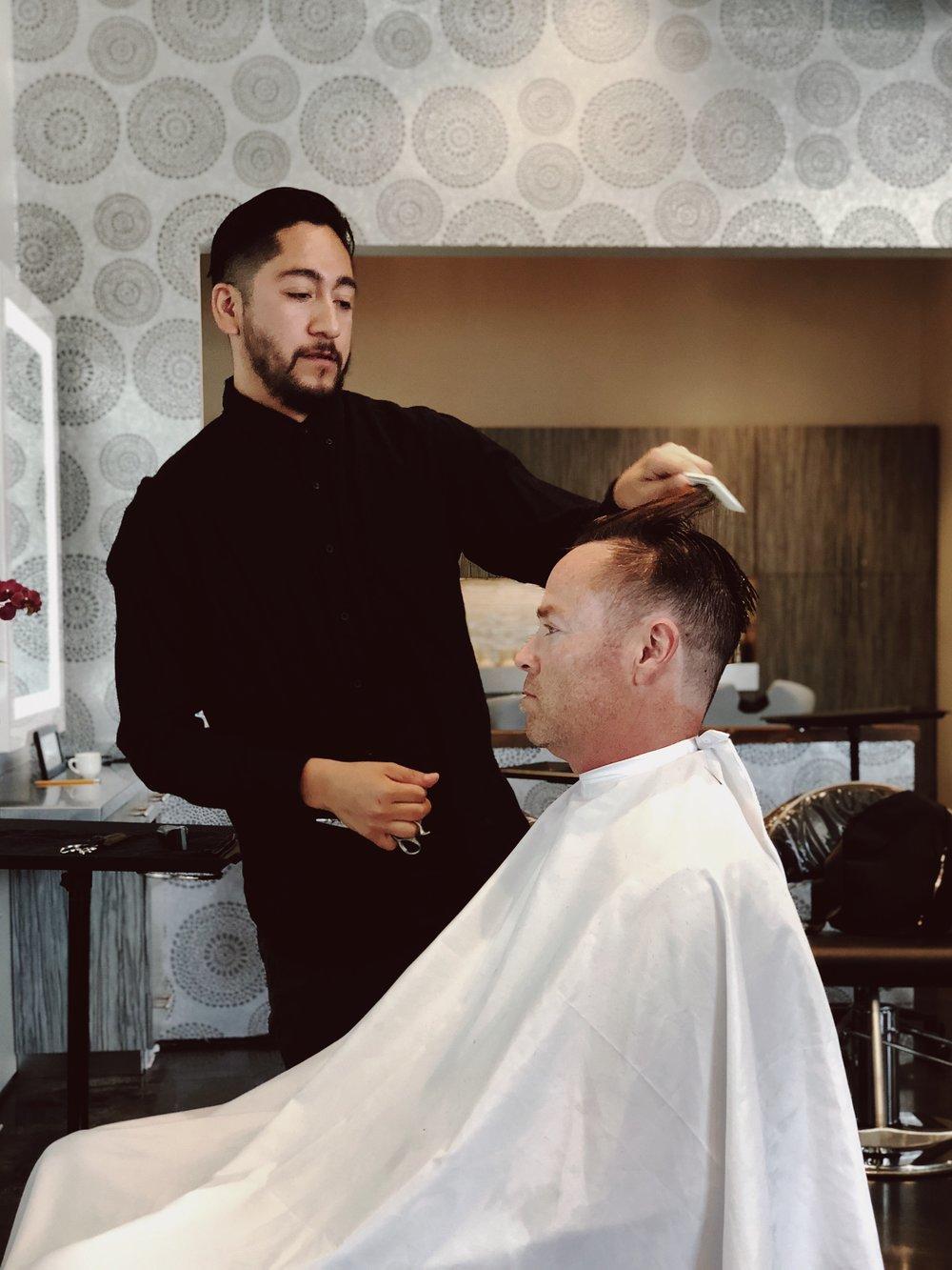 Michael Barbering Model