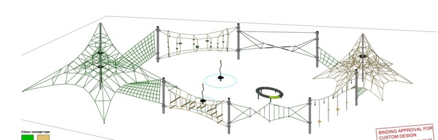 Proposed Playground equipment
