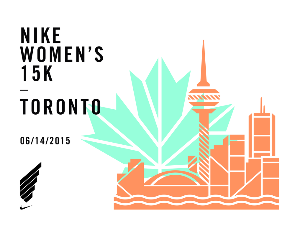 Looking to #OUTDOYOU?  Register for the Nike Women's 15K race happening in Toronto on June 14th!