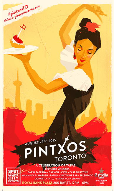 Those Spotlight City Events guys have done it again. Pinxtos Toronto returns August 23.