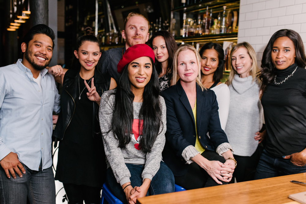 What a fine looking crew! We ate, we drank, we Instagrammed. Back row (from L to R) :   Joey Salmingo ,  Cory Lee , Executive Chef Brent Maxwell, Chef Christine Tizzard,  Meghan Young , moi,  Stacey Munro . Front:  Vijaya Selvaraju  &  Libby Roach .