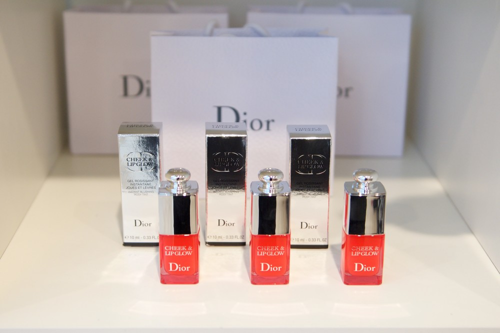 Dior Cheek and Lip Glow. (Photo by Ryan Emberley)