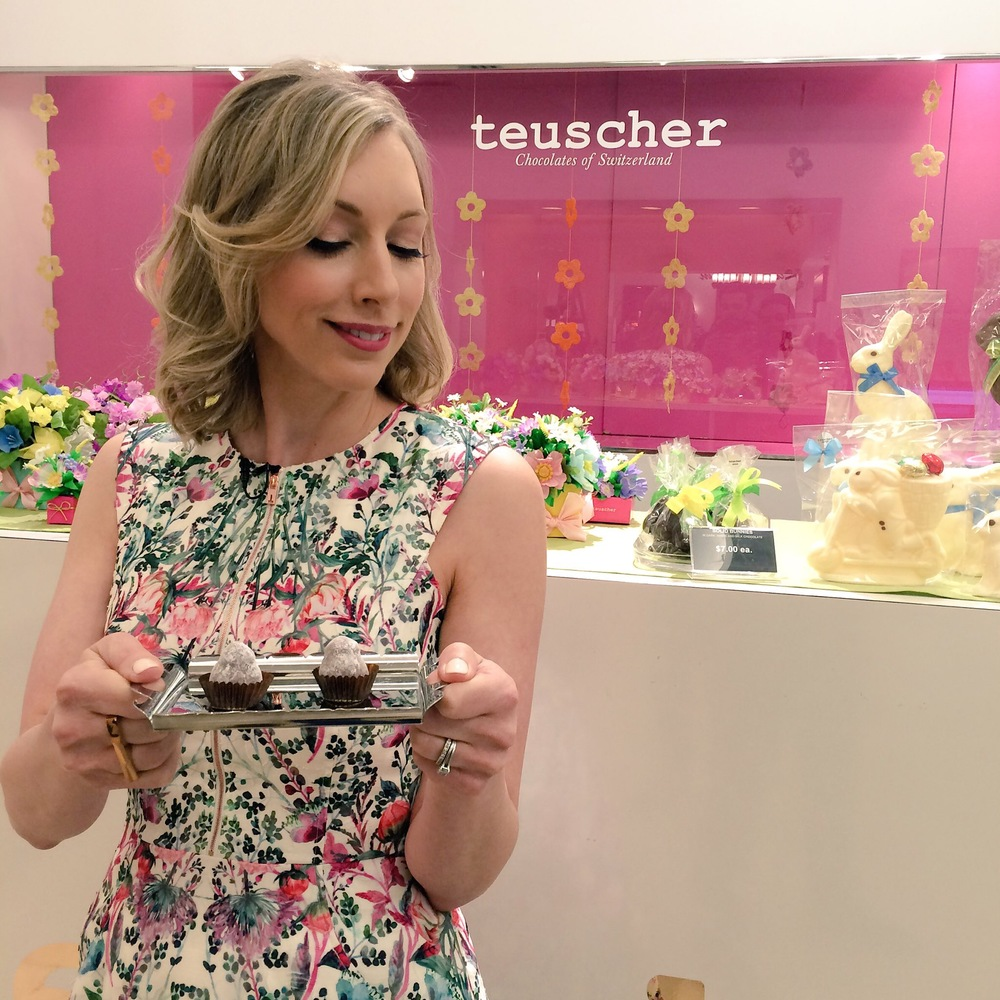 Teuscher Chocolates is a Manulife Centre fave of mine. Hello champagne truffles!