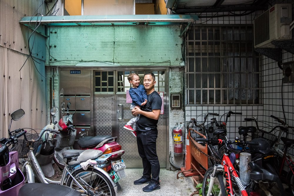 My husband, with my son, in front of the building he grew up in in Taipei. Even if my son is too young to remember this moment (we're not sure yet!), we have pictures and videos to share with him forever. Part of the wonderful thing about travel with kids is the memories you create.