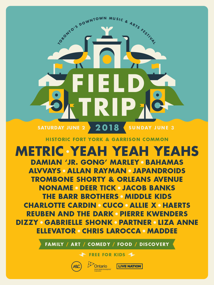 Metric and Yeah Yeah Yeahs? Sign me up!