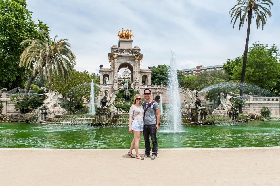 At Parc de la Ciutadella in Barcelona, June 2013.