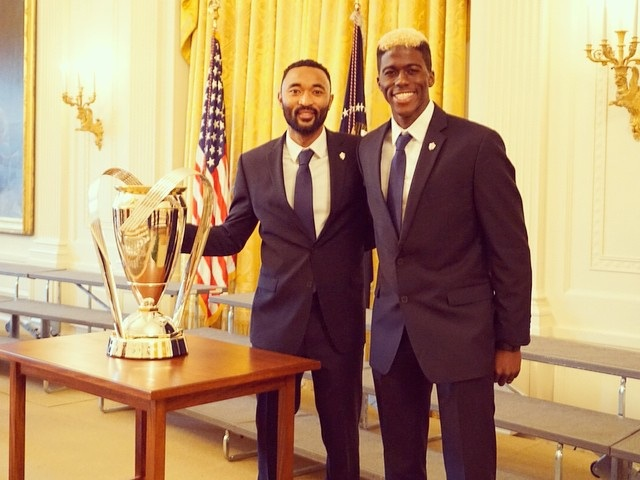 Sports Nutrition - James Riley - LA Galaxy - White House