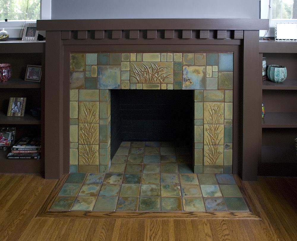 Fireplaces — Pasadena Craftsman Tile