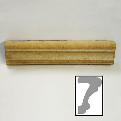 "Chair Rail - 1.75""x1"" cut to length"